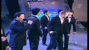 КВН Нарезки КВН Высшая лига (2008) 1/4 - Астана.kz - Конкурс одной песни