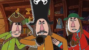 Летающие звери Сезон-1 Музыкальные пираты