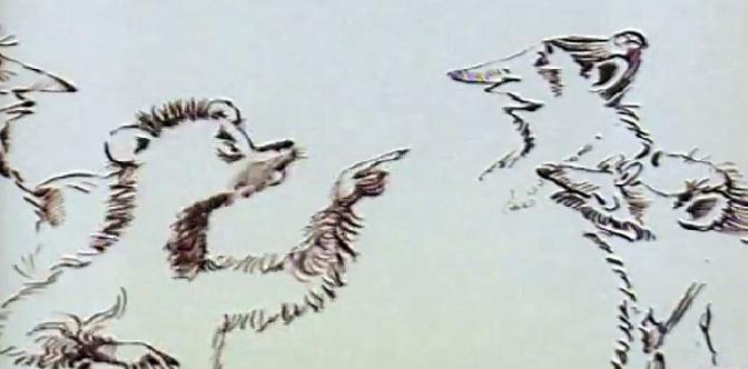Смотреть Лев и девять гиен