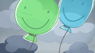 Малыши и Летающие звери Сезон-1 Куда улетают шарики?