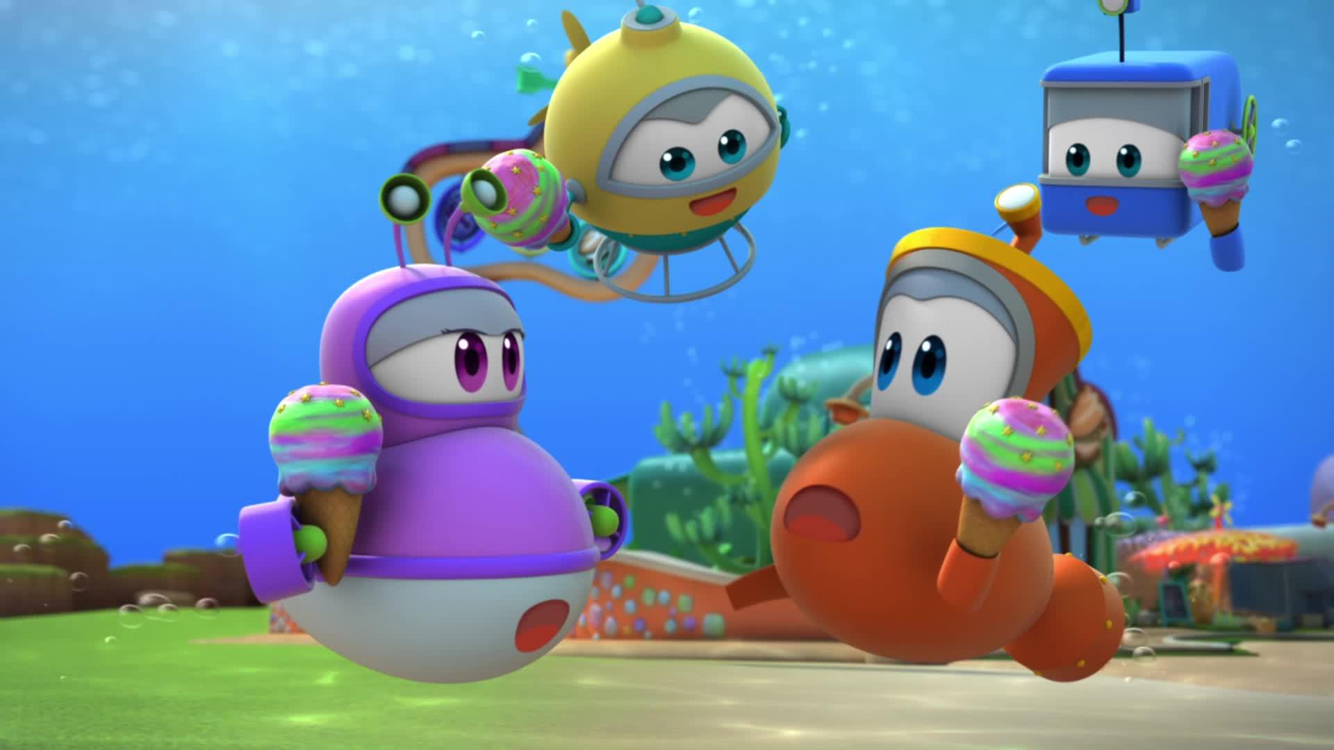 Марин и его друзья Марин и его друзья 3- Стражи кораллов-вперед!