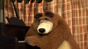 Маша и Медведь Сезон 1 Серия 19. Репетиция оркестра
