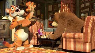 Маша и Медведь Сезон 1 Серия 28. Ход конём