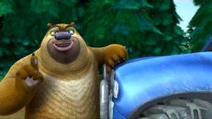 Медведи-соседи 1 сезон 14 серия. Брамбл-водитель