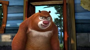 Медведи-соседи 1 сезон 56 серия. Микроволновка Вика