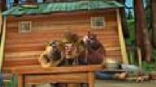 Медведи-соседи Сезон-1 Помощники лесоруба