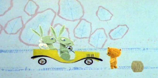Смотреть Медвежонок на дороге
