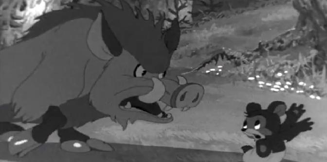 Смотреть Мишка-задира