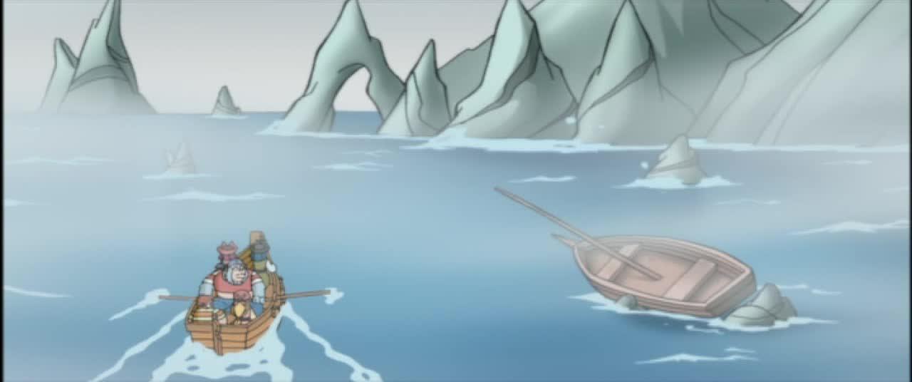 Монстры и пираты 1 сезон 2 серия