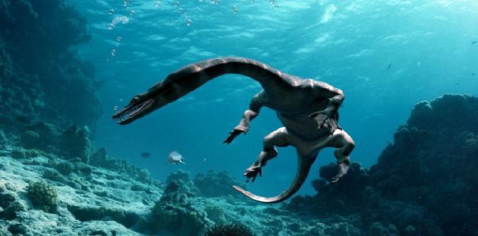 Смотреть Морские динозавры: Путешествие в доисторический мир