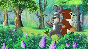 Мудрые сказки тётушки Совы Страшилки Медвежонка Ыха Страшилки Медвежонка Ыха - Вместе веселей