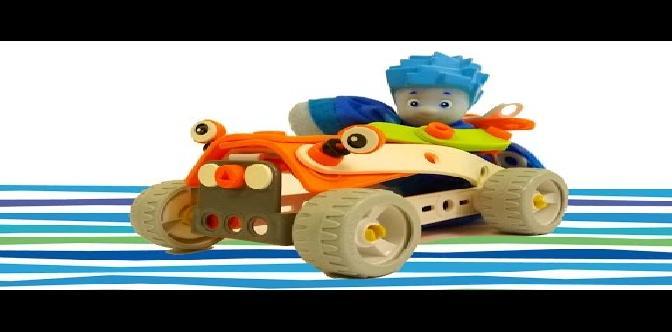 Смотреть Мультфильм конструктор - собираем гоночную машину с Фиксиками - Фиксики Play