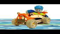 Мультфильм конструктор - собираем гоночную машину с Фиксиками - Фиксики Play