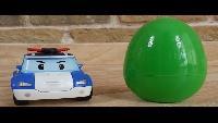 Мультфильм про трактор, который привез яйца с машинками Robocar Poli