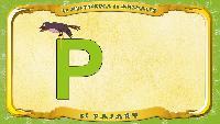 Мультипедия животных Испанский алфавит Испанский алфавит - Letra P - el Pájaro