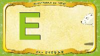 Мультипедия животных Немецкий алфавит Немецкий алфавит - Buchstabe E - der Eisbär