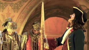 Нереальная история Пётр I На бабу гляди - кола берегись
