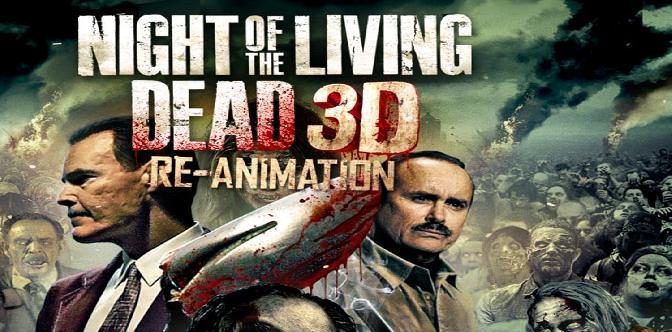 Смотреть Ночь живых мертвецов 3D - Реанимация