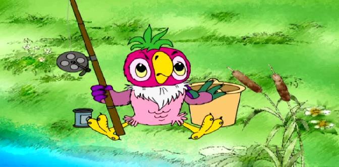 Смотреть Новые приключения попугая Кеши