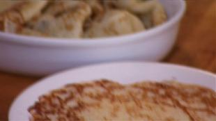 О вкусной и здоровой пище Сезон-1 Блины с вареньем из мандаринов
