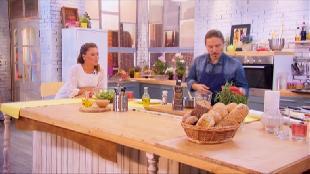 О вкусной и здоровой пище Сезон-1 Рулетики из куриной грудки с сыром и нектаринами