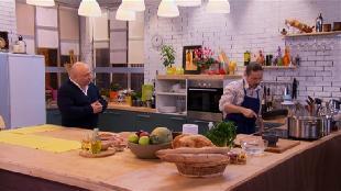 О вкусной и здоровой пище Сезон-1 Суп из сельдерея с пряной курицей