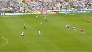 Обзор лучших матчей английской Премьер-лиги (на английском языке) Сезон-1 Classic Matches Reading VS Man United