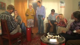 Одна за всех Бабушка Серафима Курительная комната