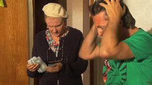 Одна за всех Бабушка Серафима Пьяный дебош