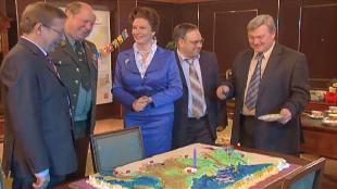 Одна за всех Президент Иванова День рождения президента