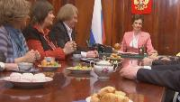 Одна за всех Президент Иванова Встреча выпускников