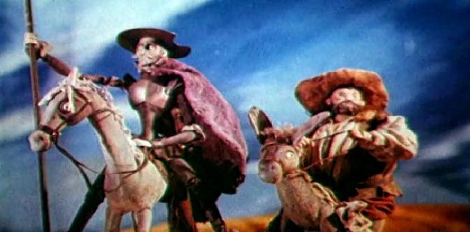 Смотреть Освобожденный Дон Кихот
