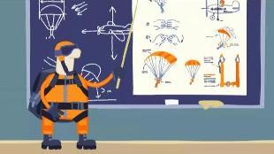 Овечки Холли и Долли Сезон-1 Прыжок с парашютом