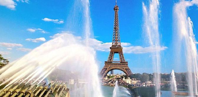 Смотреть Париж – история и современность
