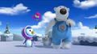 Пингвиненок Пороро Сезон-2 Красивая заколка
