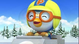 Пингвиненок Пороро Сезон 4 Пингвиненок Пороро Гонки на санях