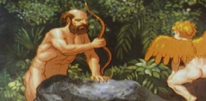 Смотреть Полифем, Акид и Галатея