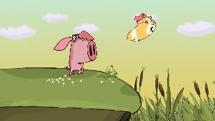 Поросёнок Поросёнок Фильм 4-й - «Морская свинка» (Piglet. Part 4 - «The guinea pig»)