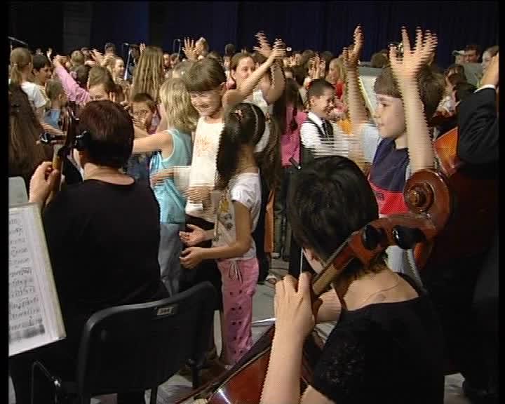 Смотреть Прелюдия для детства с оркестром