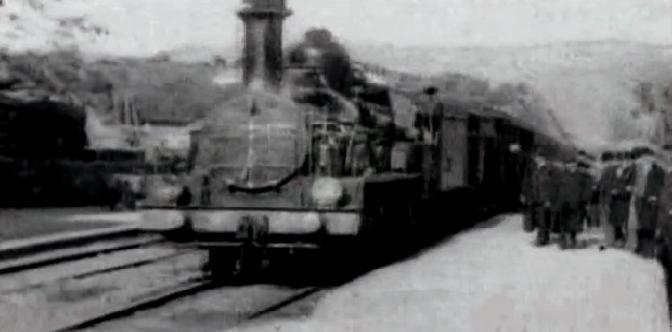 Смотреть Прибытие поезда на вокзал города Ла-Сьота