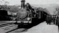 Прибытие поезда на вокзал города Ла-Сьота