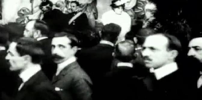Смотреть Прием Альфонса XIII в Барселоне