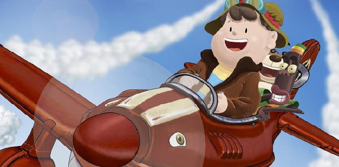 Смотреть Приключения красного самолетика