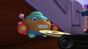 Приключения Танчика Сезон-1 Большой пришелец, маленький пришелец