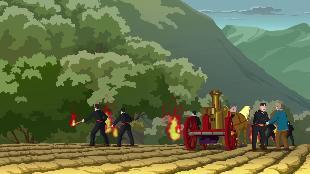 Принцесса Сисси Сезон-1 Пожар