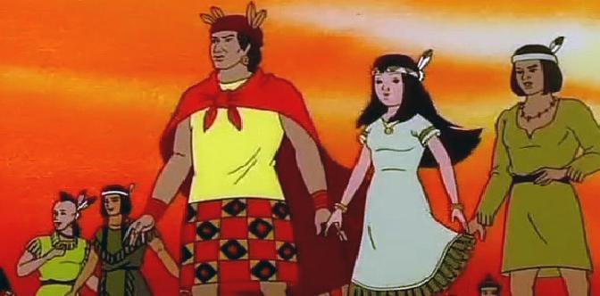 Смотреть Путешествие Покахонтас во времени