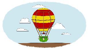 Раскраска Сезон-1 Паровозик, воздушный шар, ракета