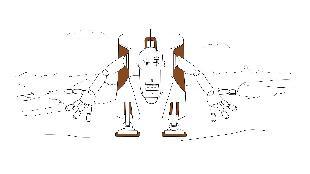 Раскраска Сезон-1 Роботы