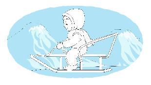Раскраска Сезон-1 Санки, подъемник, снегоход