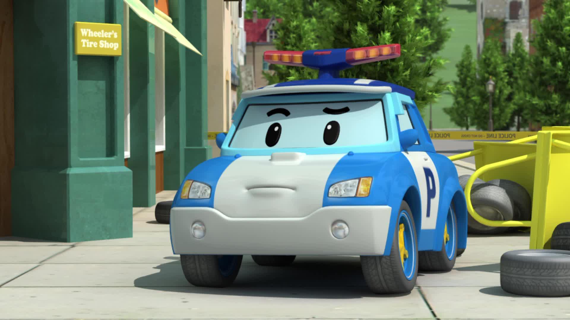 мультфильм робокар поли и его друзья все серии подряд